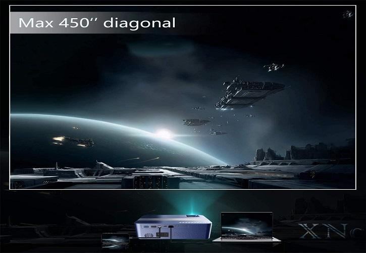Xnoogo projector 5