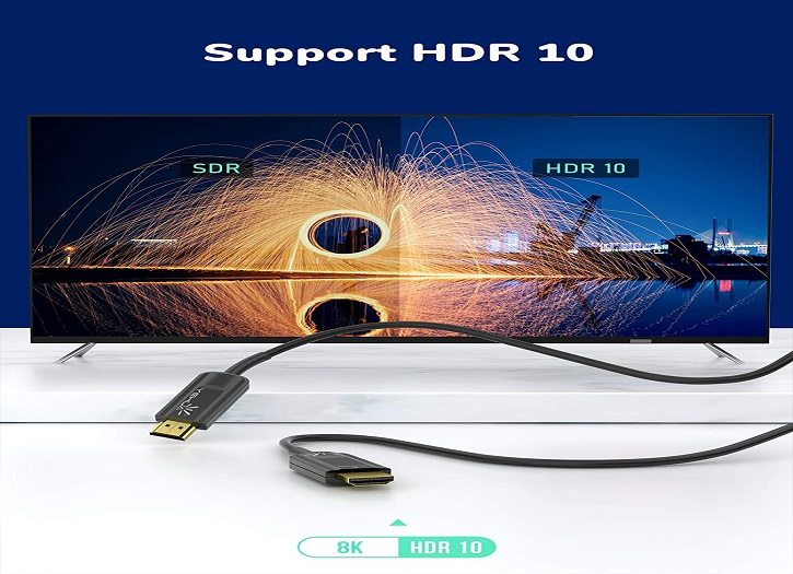 YEHUA HDMI Fiber Optic Cable 3