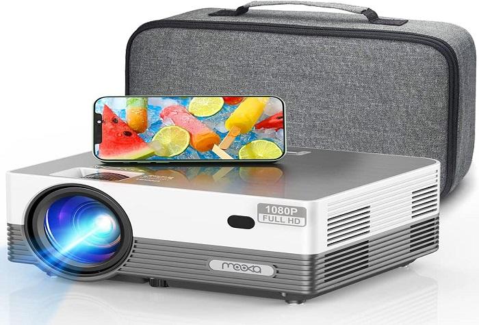 MOOKA Q6 Mini Projector